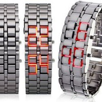 Iron Samurai LED Watch: Watches