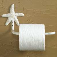 Starfish Toilet Tissue Holder | OceanStyles.com