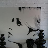 www.roomservicestore.com - Twiggy Original Artwork # 2