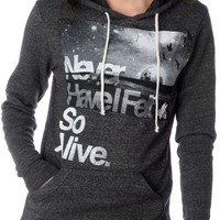 Glamour Kills Hunting To Feel Alive Charcoal Hoodie at Zumiez : PDP