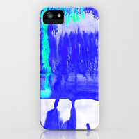 Dip Dye Ultramarine iPhone Case by Amy Sia | Society6