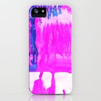 Dip Dye Hot Pink iPhone Case by Amy Sia | Society6