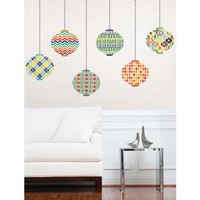 Jonathan Adler Bargello Waves Message Board Lanterns Decal Kit