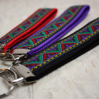 Pocketz Tribal Print Key Fobs from Pocketz
