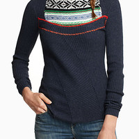 Fairisle Ribbed Sweater