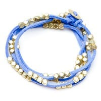 Orion Blue Beaded Bracelet