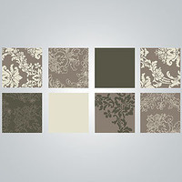 Metallic Tapestry Squares Vinyl Wall Decal | Wall Art and Decor| Home Decor | World Market