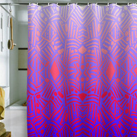 DENY Designs Home Accessories | Jacqueline Maldonado Bali Ombre Shower Curtain