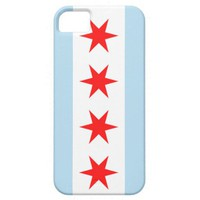 iPhone 5 chicago flag phone case iPhone 5 Cases from Zazzle.com