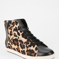 Pour La Victoire Heidi Animal Print High-Top Sneaker