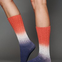 Free People Dip Dye Slouch Sock