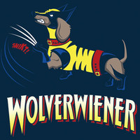 SPLITREASON.COM :: Nerd Approved - Wolverwiener t-shirt