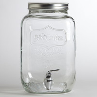 Glass Yorkshire Dispenser | World Market