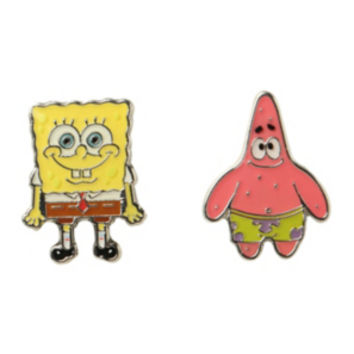 SpongeBob SquarePants Patrick Stud Earrings