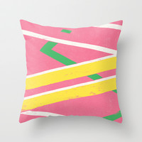 Hoverboard Throw Pillow by Speakerine / Florent Bodart