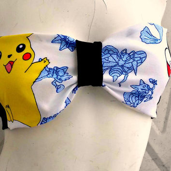 Poke bow bandeau geek bralette top Lingerie your size your favorite character