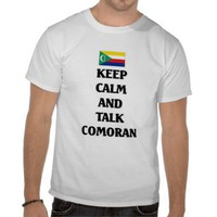 Keep calm and talk Comoran