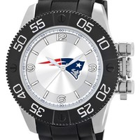 Men's Game Time Watches 'NFL Beast - New England Patriots' Flexible Strap Watch, 47mm - New England Patriots