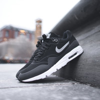 NIKE WMNS Air Max 1 Ultra Moire - Black / Metallic Silver - Email Orders