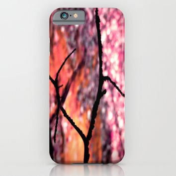 Peeking Through Pink Nature iPhone & iPod Case by 2sweet4words Designs