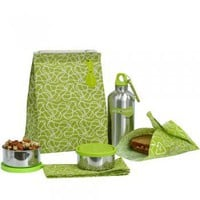 Waste-Free Lunch Kit: Green : Branch: Sustainable Design for Living