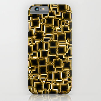 Boxey Gold iPhone & iPod Case by Alice Gosling