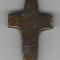 Agate Carved Cross