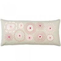 Flowers Pillow: Natural : Branch: Sustainable Design for Living