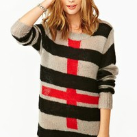 Freddy Krueger Cross Knit