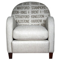 Retro To Go: Routefinder armchair from John Lewis
