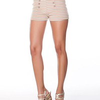 Stripe Shorts | Sexy Clothes Womens Sexy Dresses Sexy Clubwear Sexy Swimwear | Flirt Catalog