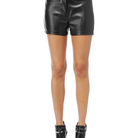 High Waist Leatherette Shorts | Sexy Clothes Womens Sexy Dresses Sexy Clubwear Sexy Swimwear | Flirt Catalog