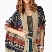 Uri Stripe Cardi