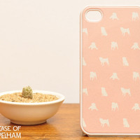 Pug iPhone Case - Pink Dog iPhone 4 Case - Cute iPhone Cases for Girls