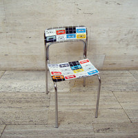 OOO MY DESIGN ? NOSTALGIC CHAIR/SILLA CASSETTE