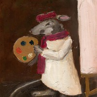 Mouse Art Painting Limited Edition .. on Luulla