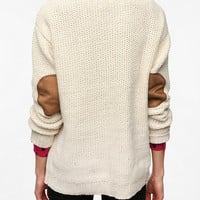 Coincidence & Chance Flecked Elbow Patch Sweater
