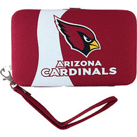 Littlearth Shell Wristlet - NFL Teams Arizona Cardinals - Littlearth Ladies Small Wallets - Default