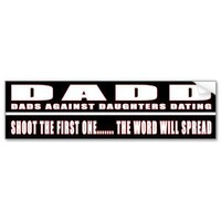 D.A.D.D. BUMPER STICKERS from Zazzle.com