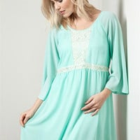 Sweet May Mint Dress - Pre Order