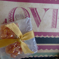 Christmas Card & Guest Soap Set