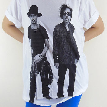 Johnny Depp T-Shirt -- Tim Burton Shirt Movie Film Actor Film Movie T-Shirt Women T-Shirt Men T-Shirt Unisex T-Shirt White Tee Shirt Size M