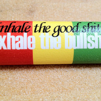 NEW &quot;inhale the good sh.. exhale the bullsh..&quot; Bic lighter