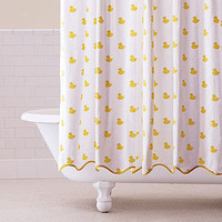 Ducky Shower Curtain | Bathroom| Bed &amp; Bath | World Market