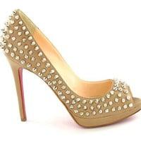 Christian Louboutin Yolanda Spikes Spike Platform Pump Footwear [2011011901] - $148.00 : Online Shop Shoes, Up To 70% On Designer Shoes