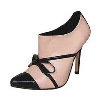 Manolo Blahnik Bow Ankle Boots Pink - &amp;#36;235.00
