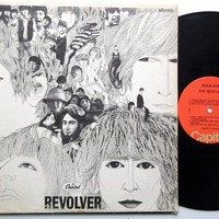 THE BEATLES Revolver LP vintage vinyl record by 2peasinamodpod