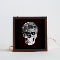 Space Head light box (Made to order)