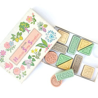1960s Vintage Pastel Avon Hostess Soap Sampler Original Gift Box