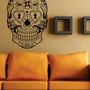 Sugar Skull  Version 6 Wall Vinyl Decal Sticker Art Graphic Sticker Sugarskull